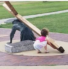 child and cross