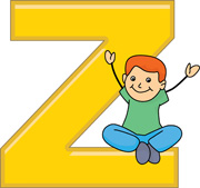 Children with the letter Z