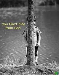 hiding from God