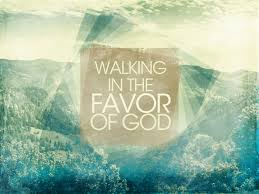 walking in favor