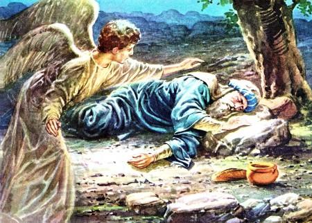 A Angel Visits Elijah